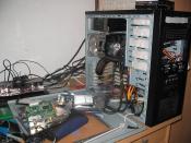 Beim Umbau vom MB, Festplatten ,etc.