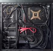 Kabelmanagement hinten