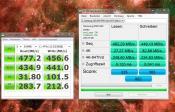 msahci war schneller mit read 510 MB/s u. write 460 MB/s