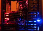 Beleuchtetes LED Trace-Path des Mainboards (Gigabyte GA-Z170X-Gaming 7-EU) - Farben können geändert werden