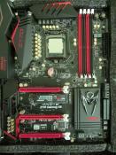Board mit Prozessor und Samsung 950Pro