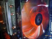 CPU-Kühler-Lüfter, 14cm in seiner vollen Pracht
