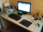 Mein Schreibtisch (Update 08.01.10)