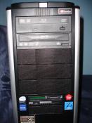 Blu-Ray LW, Floppy mit Card Reader und jede Menge Aufkleber :D