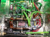 Die 2 8800er mit Kühlung, frisch kalt eingespeisst vom vorderen Radiator