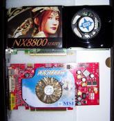 Vergleich meiner alten 7600GT von Msi und der neuen 8800GTS (G92)  Msi OC.