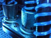 Anschlüsse der EK-GTX 280-Kühlung (altes System)