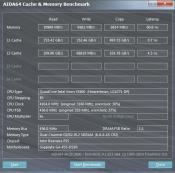 AIDA64 Cache Benchmark @ 4,1 GHz