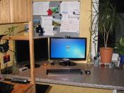 Neuer Monitor am Arbeitsplatz ;)