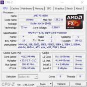 AMD FX-8350 4.0 GHz (CpuZ)