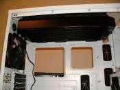 Hier mein oberer Alphacool NexXxoS XT45 Full Copper 180mm Dual Radiator in der Abmessungen (L x B x H): 403 x 182 x 45mm