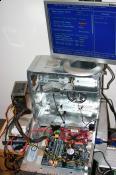 Testinstallation BIOS-Ansicht