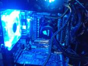 Blick auf die CPU