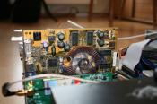 Die Grafikkarte, eine Geforce FX 5600