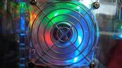 Einer meiner 5 LED-Lüfter