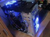 Mein PC völlig nackt, ebenfalls vorher
