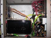 Netzteil  ,Laufwerke, HDD Kühler