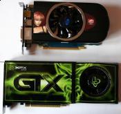 Größenvergleich :XFX Gtx 260 mit Sapphire HD5770