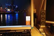 Die 2.1 Creativ Anlage macht nen ordentlichen Sound