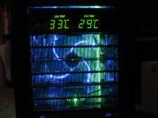 Nahezu ideale Temperaturen: Normale Last, Laufzeit ca.45 Minuten, Aussentemp 23°C