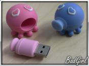 8GB USB-Sticks von A-DATA (Kissing Octopus Couple)