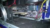 SAS-Controller und Soundkarte mit extra Lüfter davor