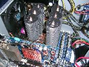 Der Blick in den Rechner auf den SilentTower