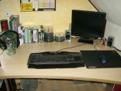Mein bescheidener Arbeitsplatz :)