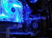 Core2Quad 2,66Ghz. bei 3Ghz. unter Wasser