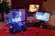 my Sys beim Caseking Weihnachts Special 2009! Hab ein Lian Li PC25F gewonnen
