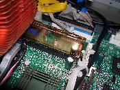 1 GB Ram Samsung (400 MHz) mit Kupferkühlkörper von Titan