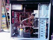Der 2. Umbau. Der VGA kühler musste weichen.