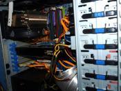 Der Rechner anfangs 2009 (Q6600,4GB DDR2 800,GTX280)