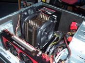 CPU Cooler Prolimatech eingebaut
