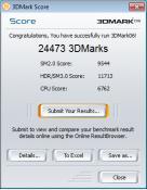 3D Mark Score OC