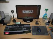 Mein Arbeitsplatz :) (noch mit Alter Tastatur..)