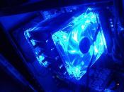 mugen 2 mit 2 blauen LED lüftern