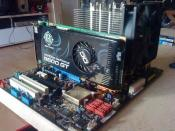 MB, Graka und CPU Cooler