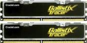 Crucial Ballistix Tracer DIMM Kit 4GB PC2-8500U CL5-5-5-15