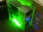 Mein Rechner von der Seite
