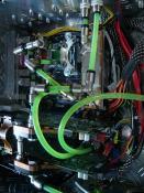 WaKü-Elemente mit Durchlass nach oben zur Pumpe