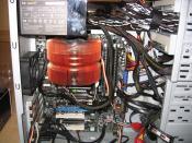 Rechner von Innen ohne Graka im alten Case