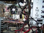 Das Innenleben meines PC's.