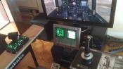 mein erster Entwurf eines Cockpits