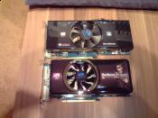 2x Sapphire Radeon HD 4870 in Cross Fire ;)