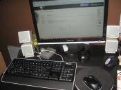 Mein Schreibtisch!