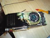 meine Asus GF 8800 GTX