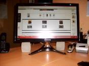 Mein Samsung LCD-Bildschirm
