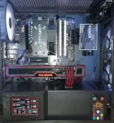 März 2021: Gigabyte B550 DS3H, Ryzen 5 5600X, AMD RX 6700 XT, 1TB Patriot Viper M.2 SSD, Netzteil BeQuiet System Power 9 700W, Gehäuse Kolink Mesh RGB