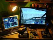 FSX Cockpit CRJ700